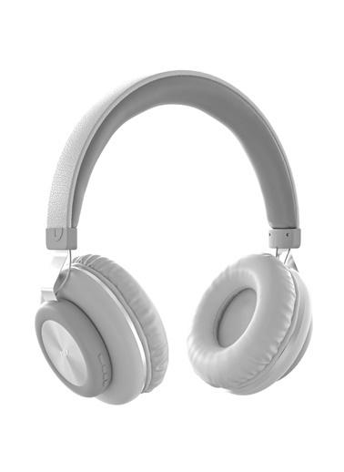 MF Product MF Product Acoustic 0125 Mikrofonlu Kulak Üstü Kablosuz tooth Kulaklık Beyaz